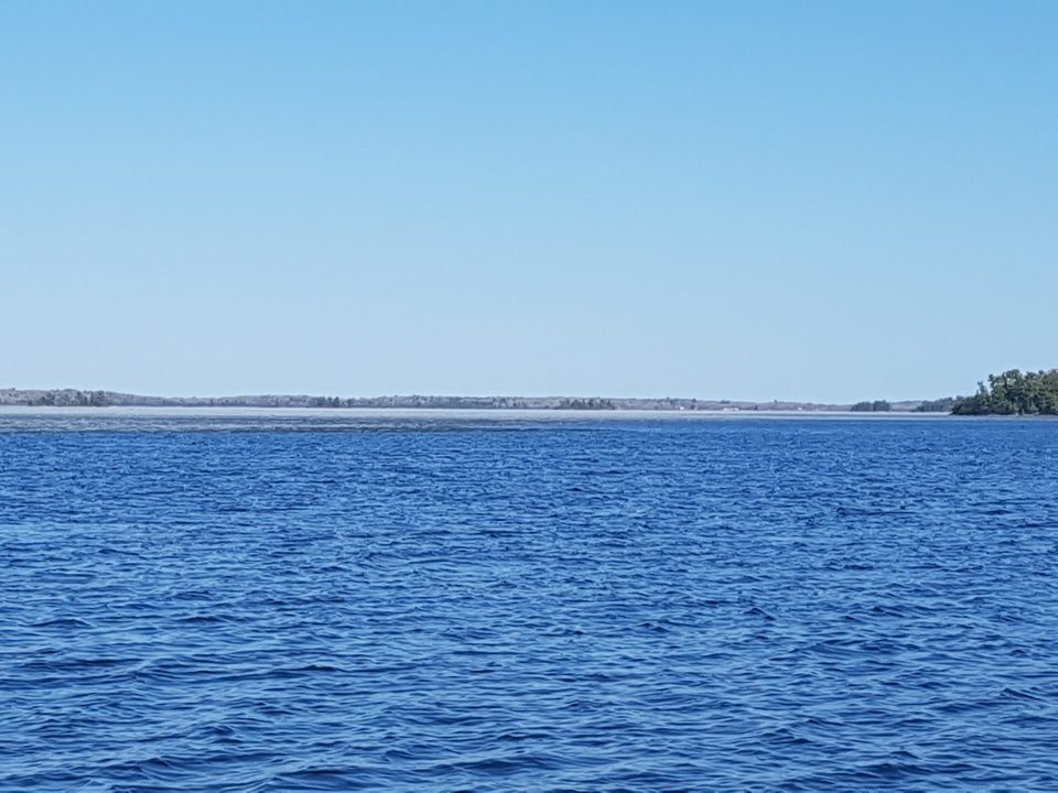 Looking east down Regina Bay