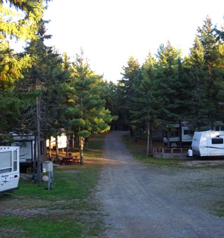 Welcoming Sites for RV's and Campers ...