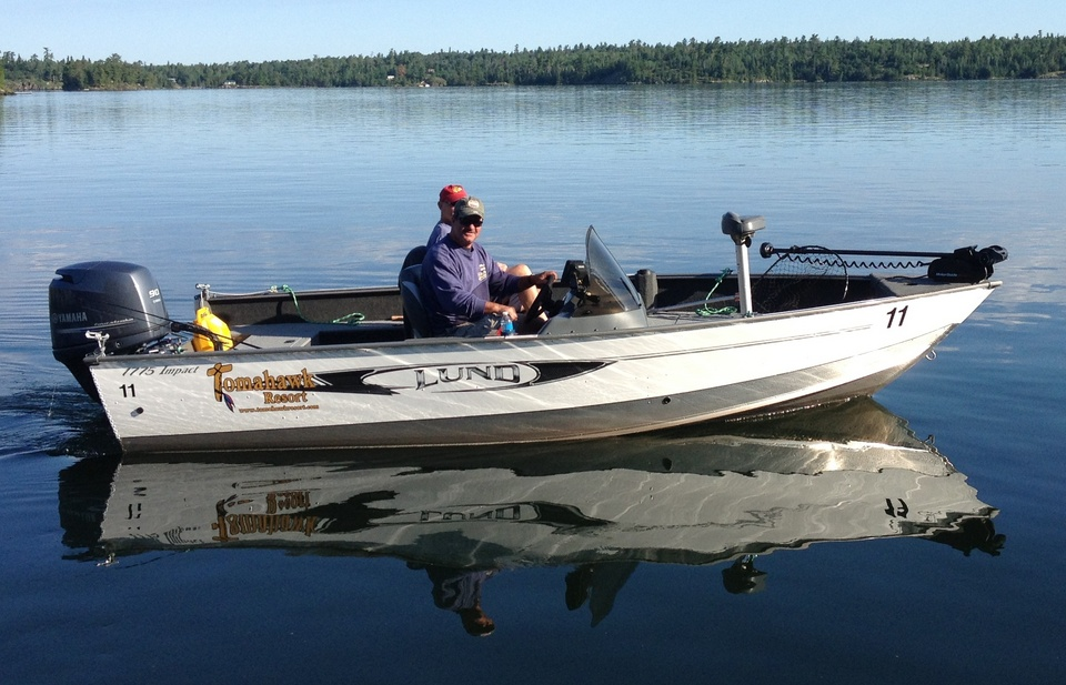 Fishing boating and family vacations on lake of the for Fishing boat rentals