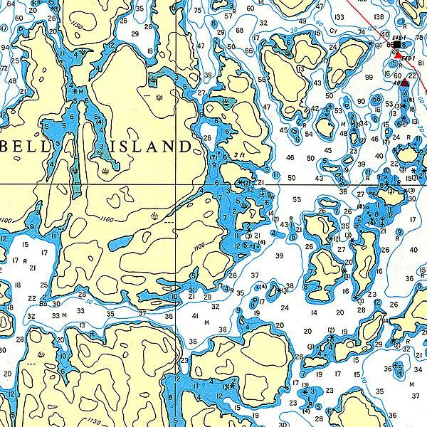 Bell Island, Lake of the Woods